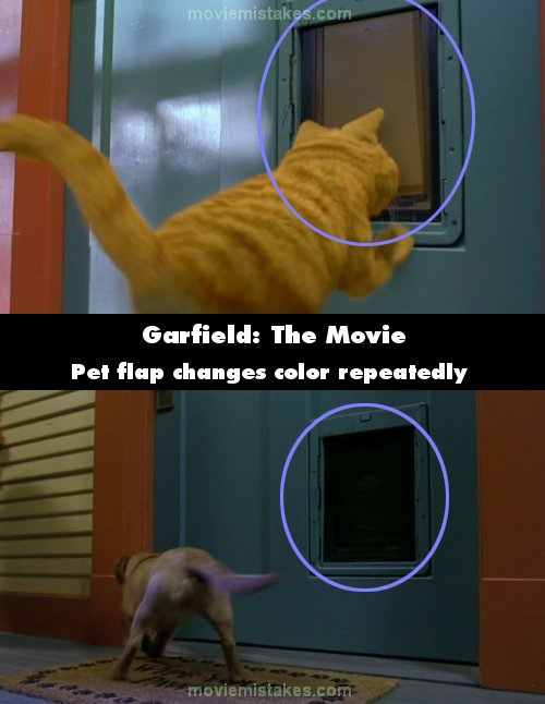 Garfield The Movie 2004 Movie Mistake Picture Id 62978