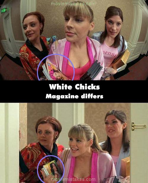 White Chicks mistake picture