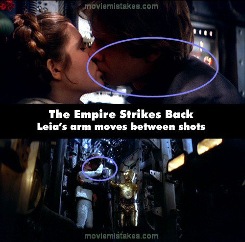 Star Wars Episode V The Empire Strikes Back 1980 Movie Mistake Picture Id 63224