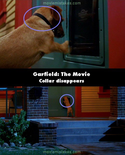 Garfield: The Movie mistake picture