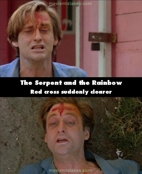 The Serpent and the Rainbow mistake picture