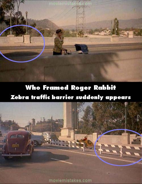 Who Framed Roger Rabbit mistake picture