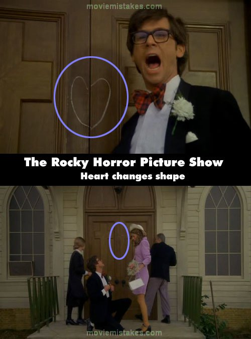 The Rocky Horror Picture Show (1975) movie mistake picture ...