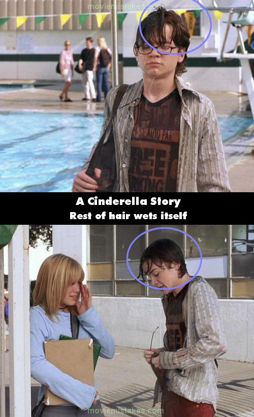 A Cinderella Story mistake picture