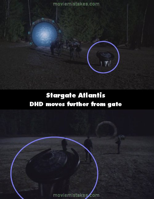 Stargate: Atlantis mistake picture