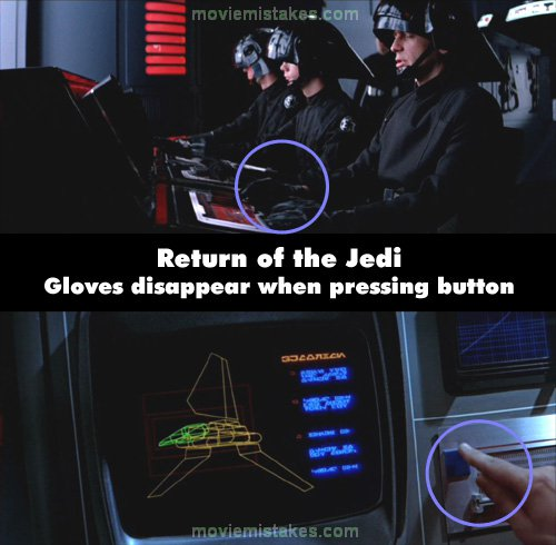 Star Wars: Episode VI - Return of the Jedi mistake picture