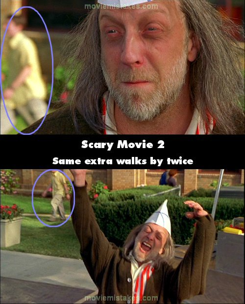 scary movie 2 2001 movie mistake picture id 67232