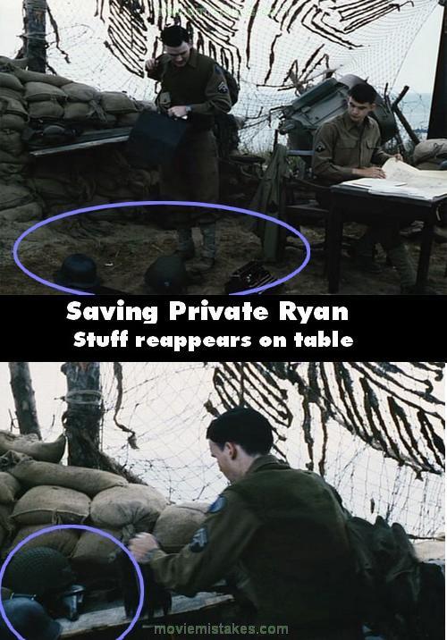 Saving Private Ryan 1998 Movie Mistake Picture Id 6726