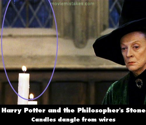Harry Potter Book Mistakes ~ Harry potter and the philosopher s stone movie mistake