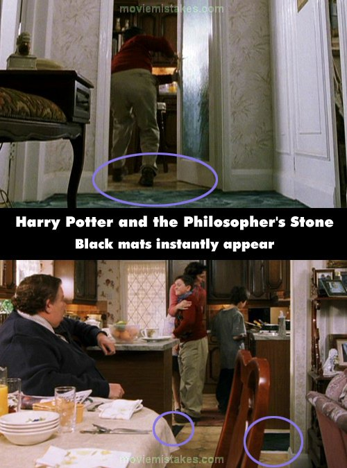 Harry Potter And The Philosopher S Stone 2001 Movie Mistake Picture Id 68332