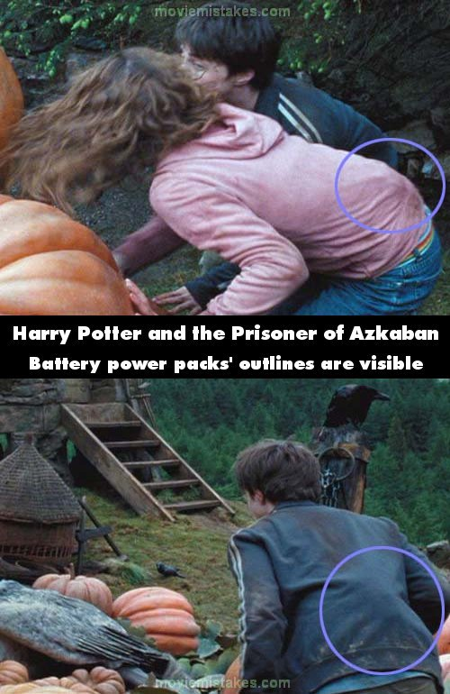 Harry Potter and the Prisoner of Azkaban mistake picture