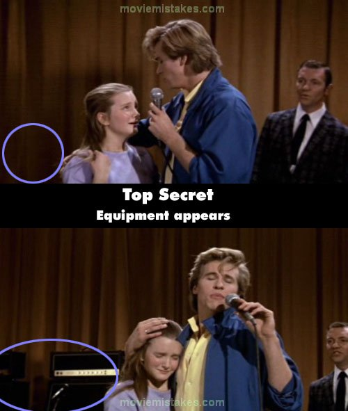 Top Secret! mistake picture