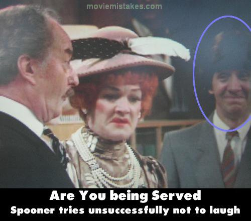 Are You Being Served? mistake picture