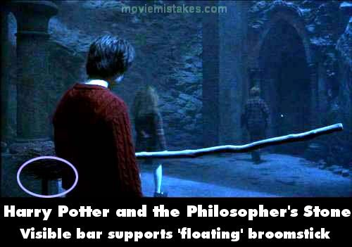 Harry Potter and the Philosopher's Stone mistake picture