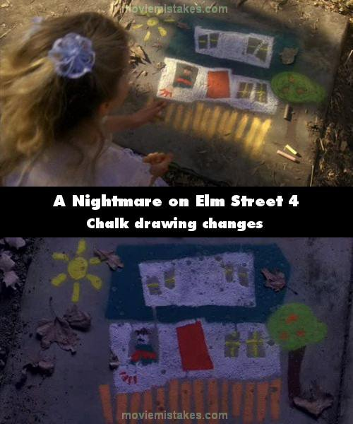 A Nightmare on Elm Street 4 mistake picture