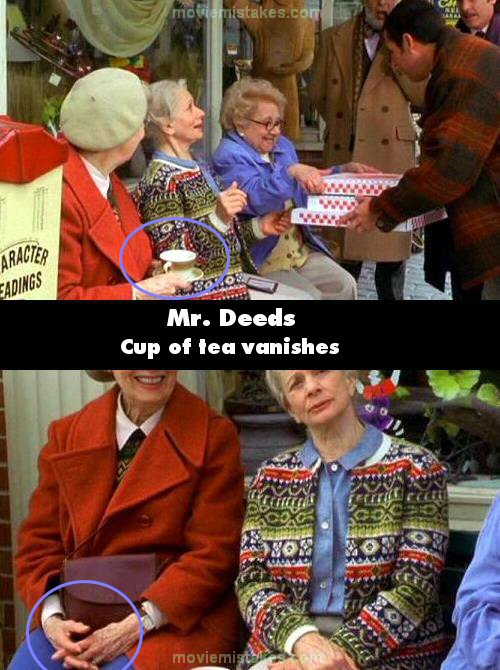 Mr. Deeds mistake picture