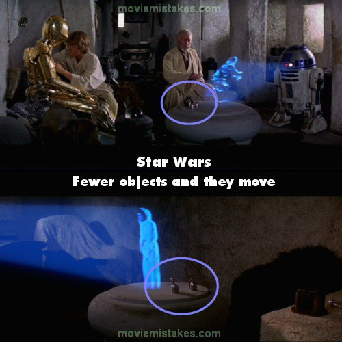 Movie Quotes Star Wars: Star Wars (1977) Movie Mistake Picture (ID 7333