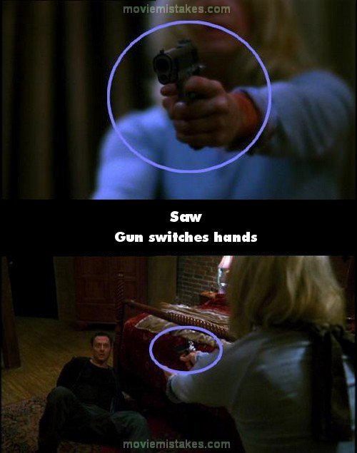 The Worst Mistake People Make When Placing Under Counter: Saw (2004) Movie Mistakes, Goofs And Bloopers