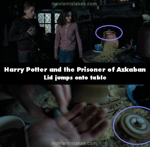 Harry Potter Book Error : Harry potter and the prisoner of azkaban movie