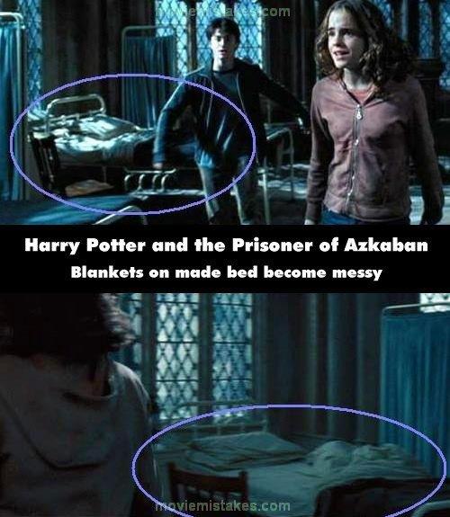 harry potter and the prisoner of azkaban movie mistake