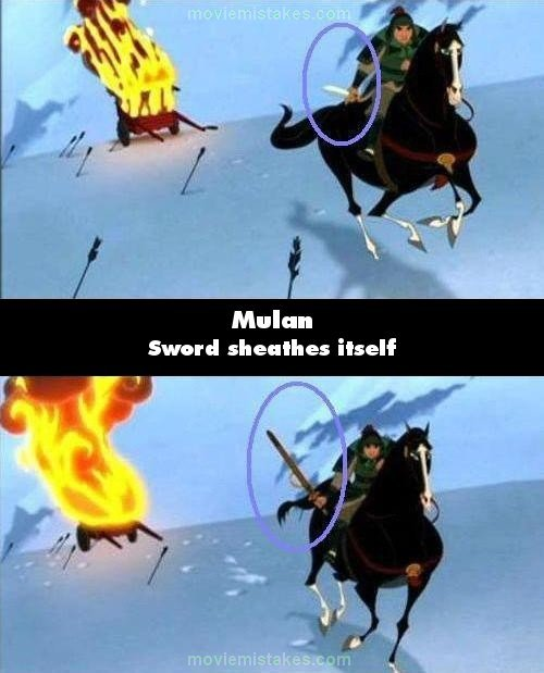 Mulan mistake picture