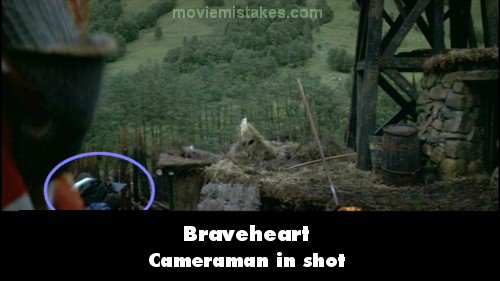 Braveheart 1995 Movie Mistake Picture Id 75758