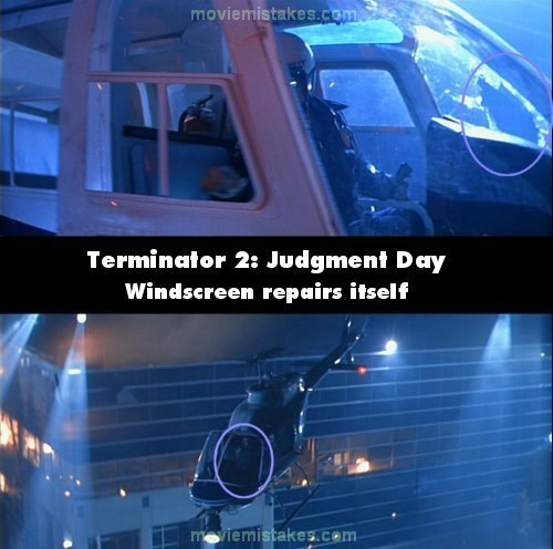 Terminator 2: Judgment Day mistake picture