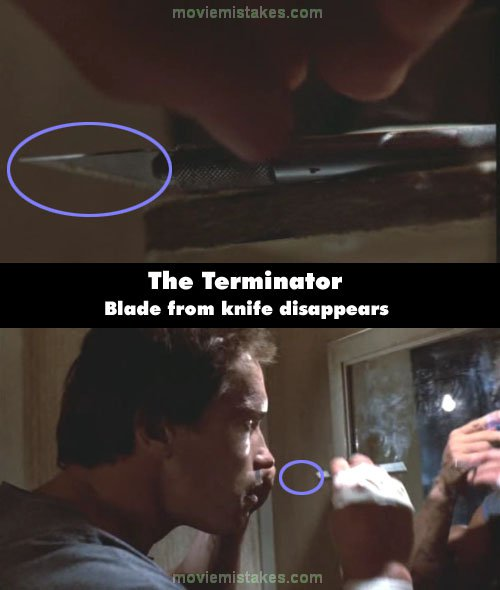 The Terminator mistake picture