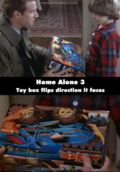 Home Alone 3 mistake picture