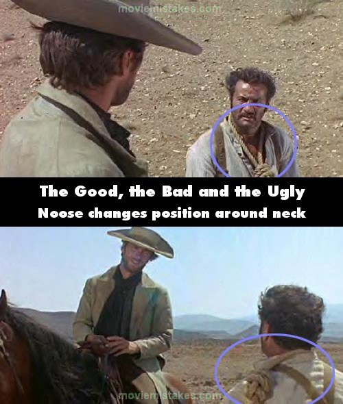 The Good, the Bad and the Ugly mistake picture