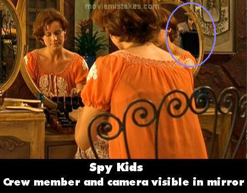 Spy Kids mistake picture