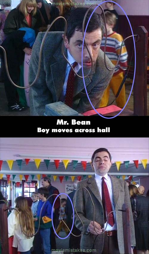 Mr. Bean mistake picture