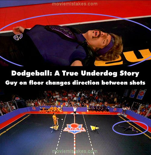 Dodgeball: A True Underdog Story mistake picture