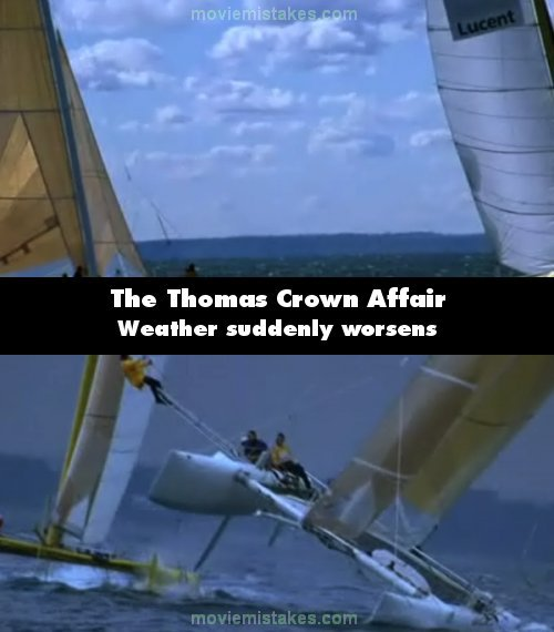 The Thomas Crown Affair mistake picture