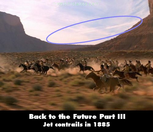 Back to the Future Part III mistake picture
