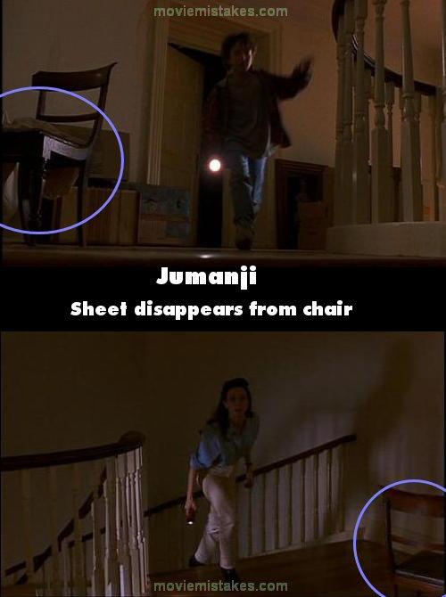 Jumanji 1995 Movie Mistake Picture Id 78230