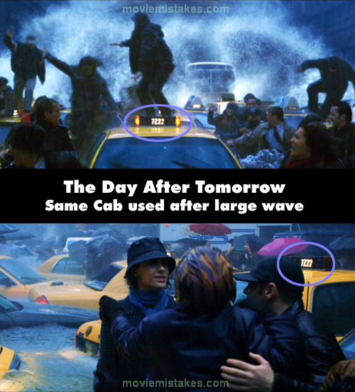 The Day After Tomorrow mistake picture