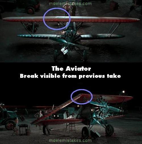 The Aviator mistake picture