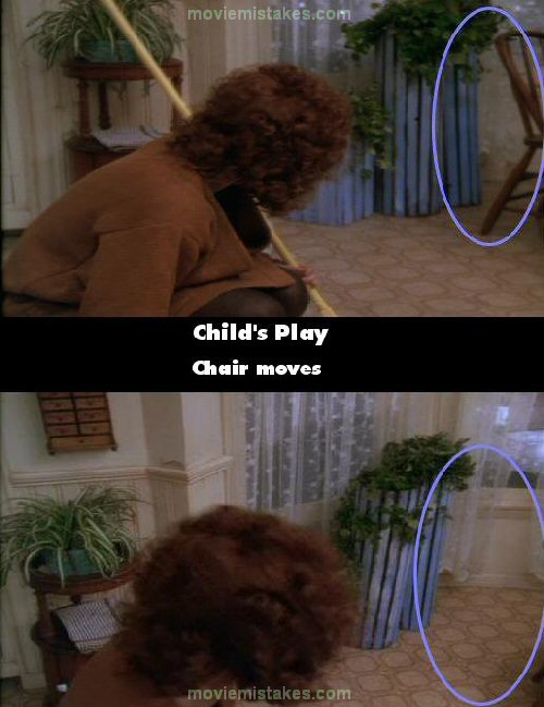 Child's Play mistake picture