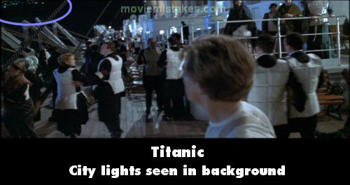 titanic 1997 movie mistake picture id 7928
