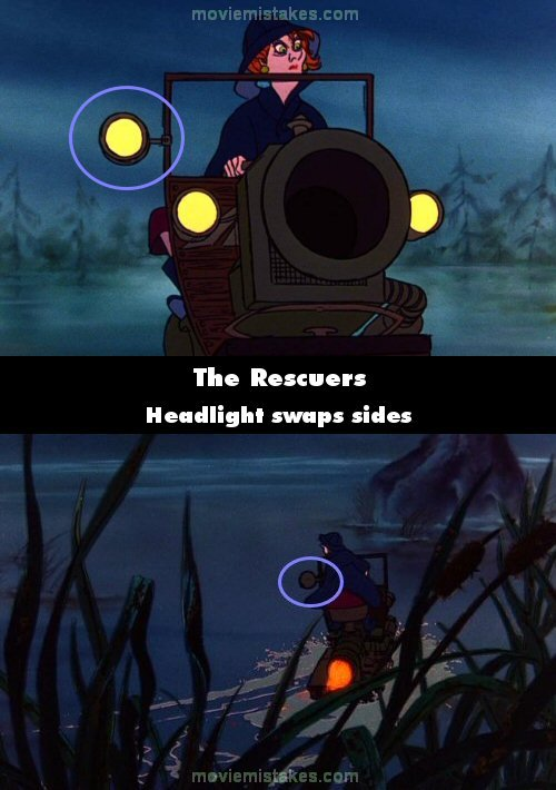 The Rescuers mistake picture