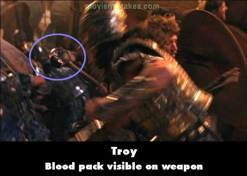 Troy Movie Mistake Picture 9