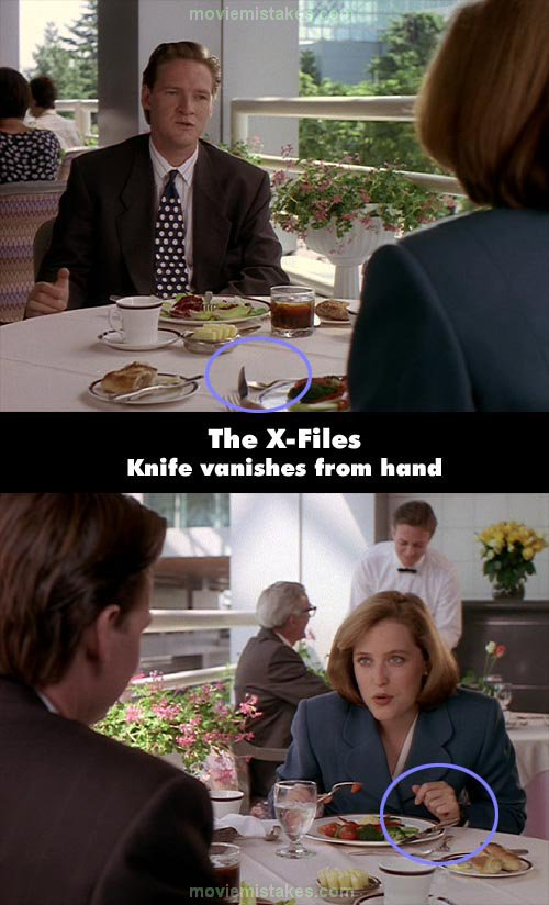 The X-Files mistake picture