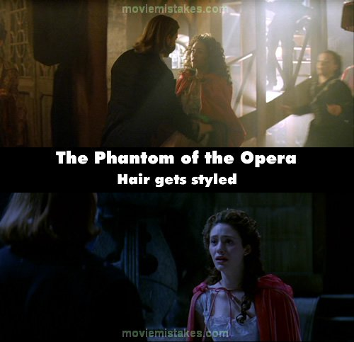 The Phantom of the Opera mistake picture