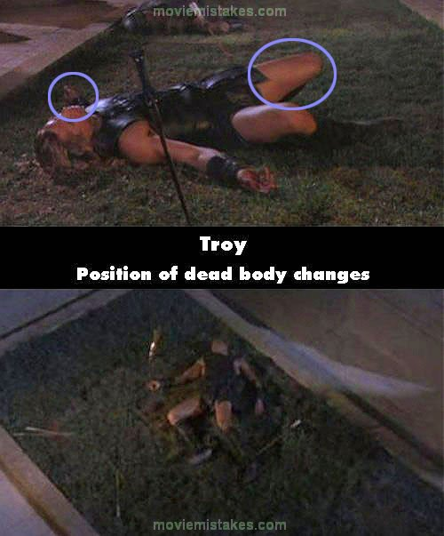Troy (2004) movie mist...