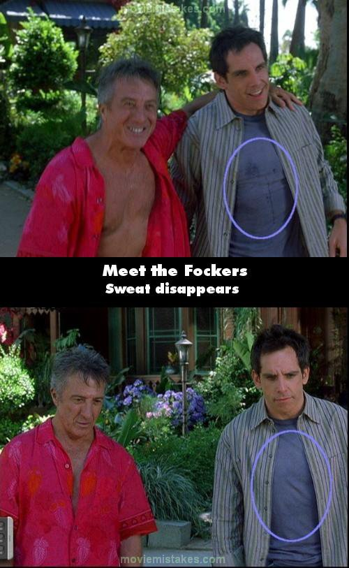 Meet the Fockers mistake picture