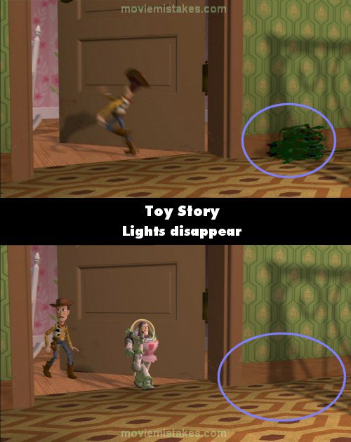 5 Toy Story Bloopers