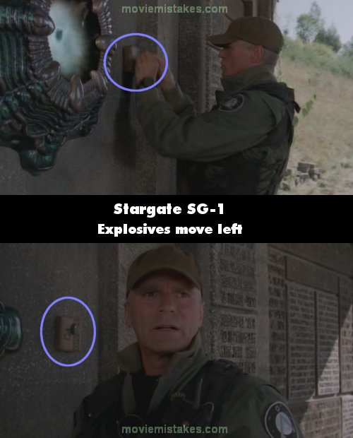 Stargate SG-1 mistake picture
