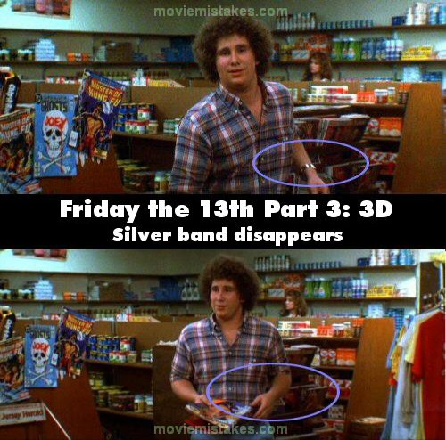 Friday the 13th Part 3: 3D mistake picture