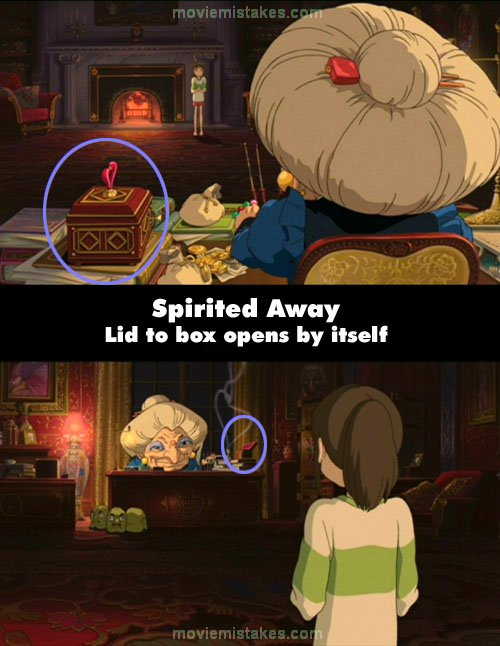 Spirited Away Quotes Glamorous Spirited Away 2001 Movie Mistake Picture Id 83764